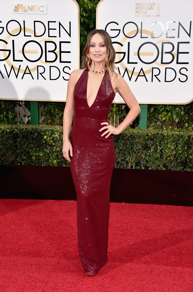 olivia wilde gown golden globe awards 2016 ykagency runway models agency mexico city